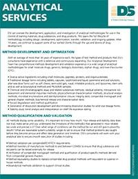 Analytical Method Development, Optimization and Validation