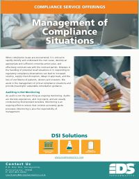 Management of Compliance Situations
