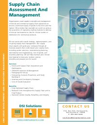 Supply Chain Assessment And Management