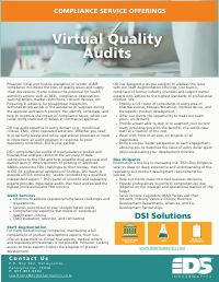 Vendor Qualification, Inspections and Mock Pre-approval Audits